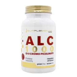 Acetil-Carnitina e Cromo Isupplements in compresse iALC1000 Gluten Free 60 cpr