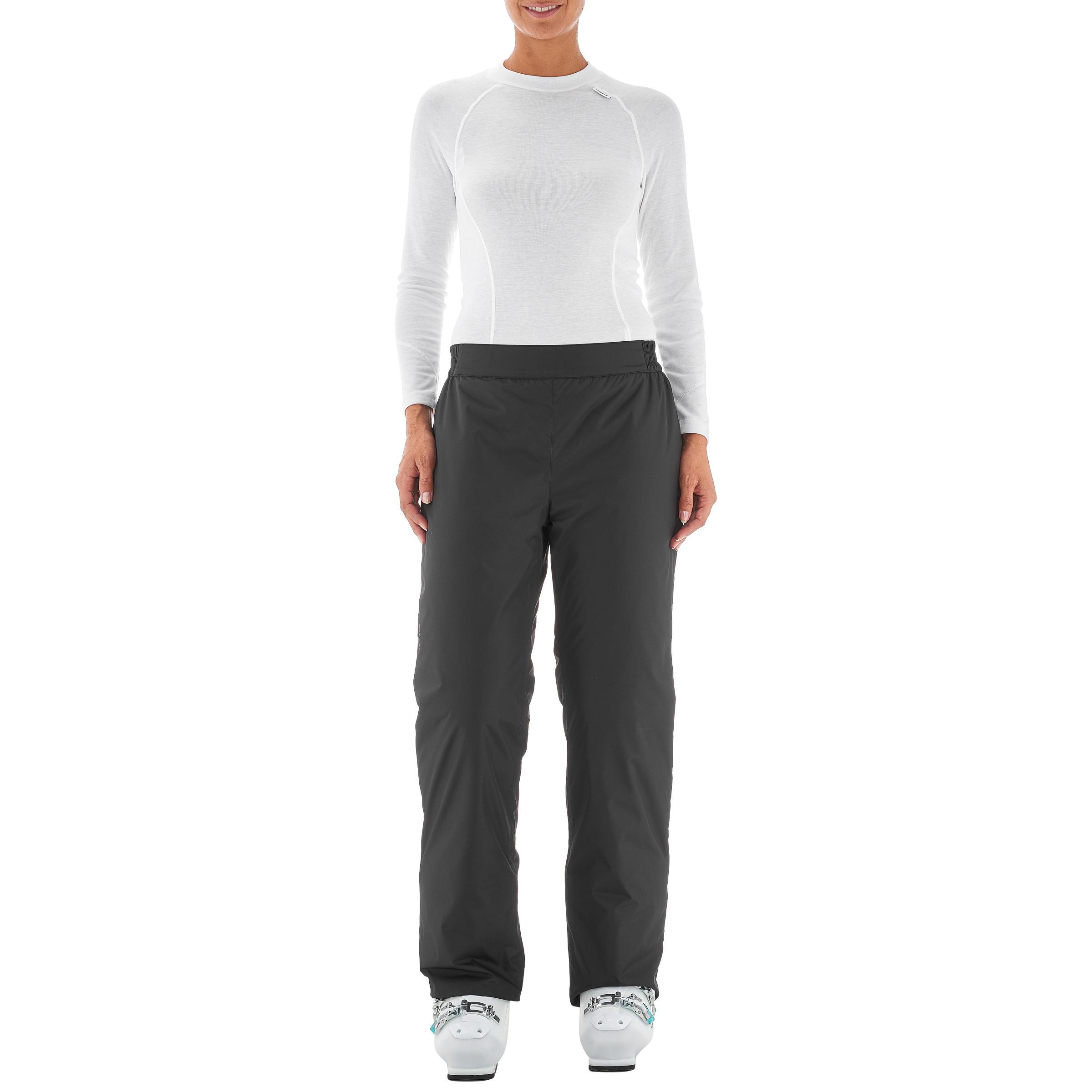 กางเกงผู้หญิงสำหรับใส่เล่นสกีลงเขารุ่น SKI-P PA 50 (สีดำ)