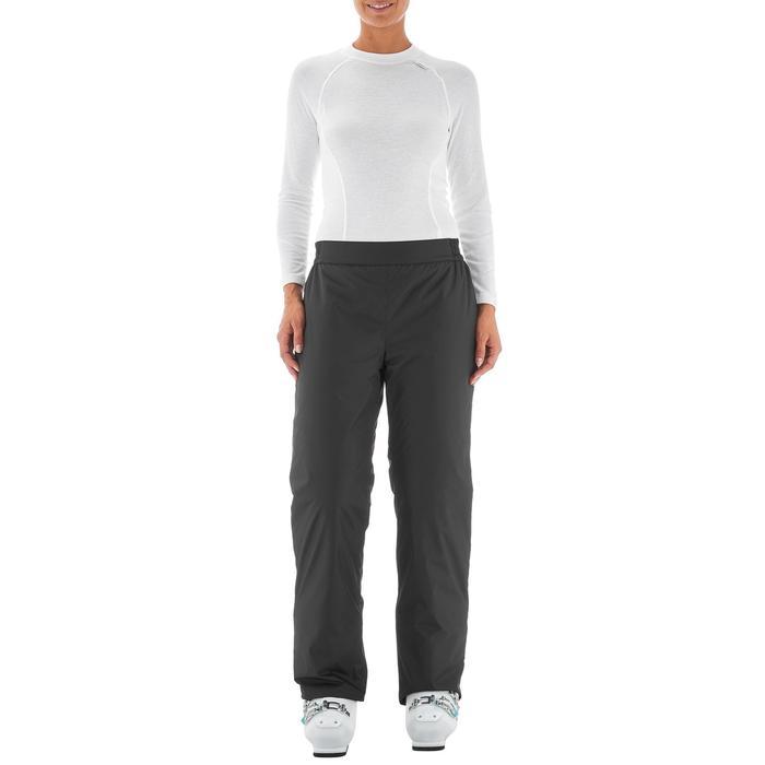 Pantalon ski femme First heat noir - 1198321