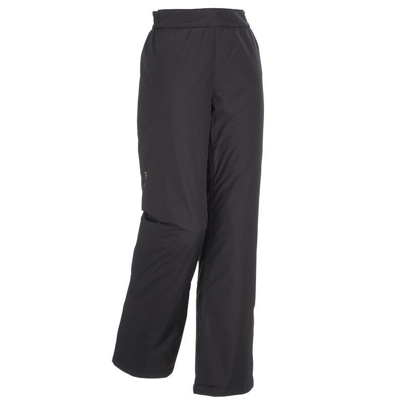 Pantalones de Esquí y Nieve Mujer Wedze Ski-P 100 Negro