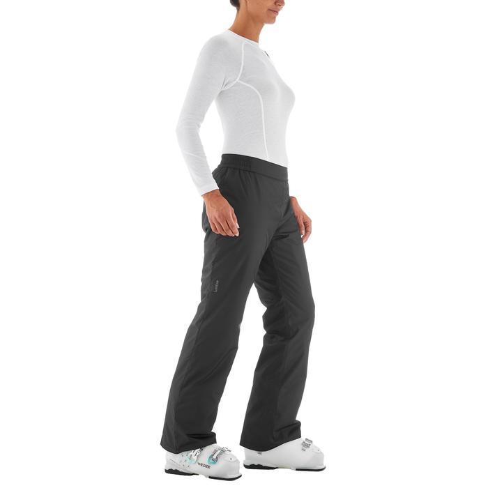 Pantalon ski femme First heat noir - 1198367