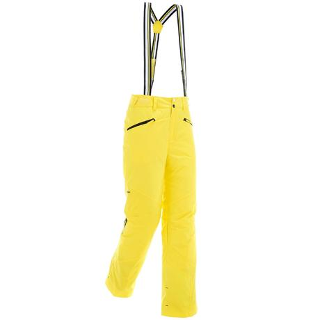 pantalon de ski de piste homme ski p pa 150 jaune wedze. Black Bedroom Furniture Sets. Home Design Ideas