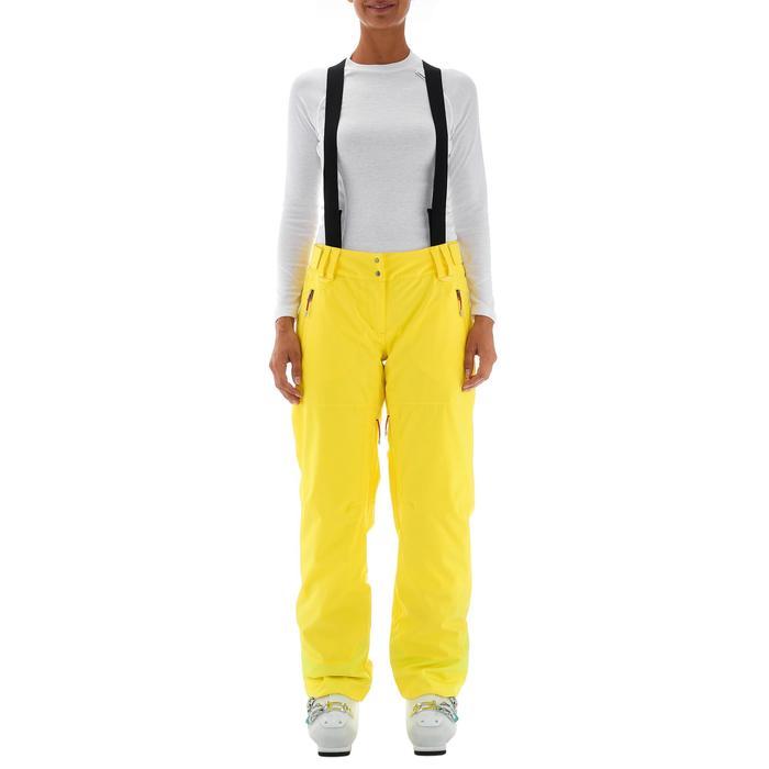 Skihose Free 700 Damen gelb