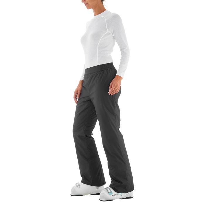 Pantalon ski femme First heat noir - 1198402
