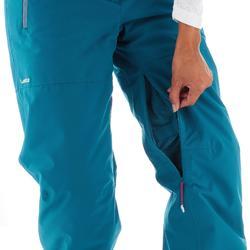 Ski- en snowboardbroek Free 700 voor dames blauw