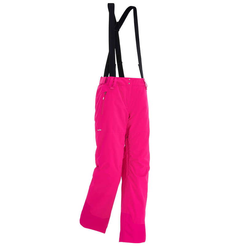 WOMAN'S FREERIDE SKIING CLOTHING - FREE 500 W TR - PINK WEDZE