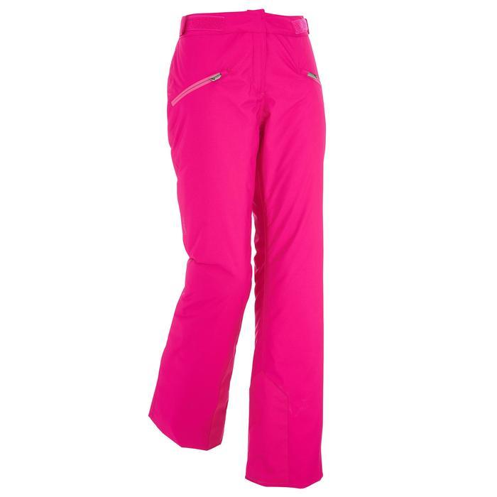 Skihose Slide 300 Damen rosa