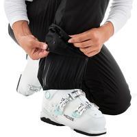 WOMEN'S DOWNHILL SKI PANTS 180 - BLACK