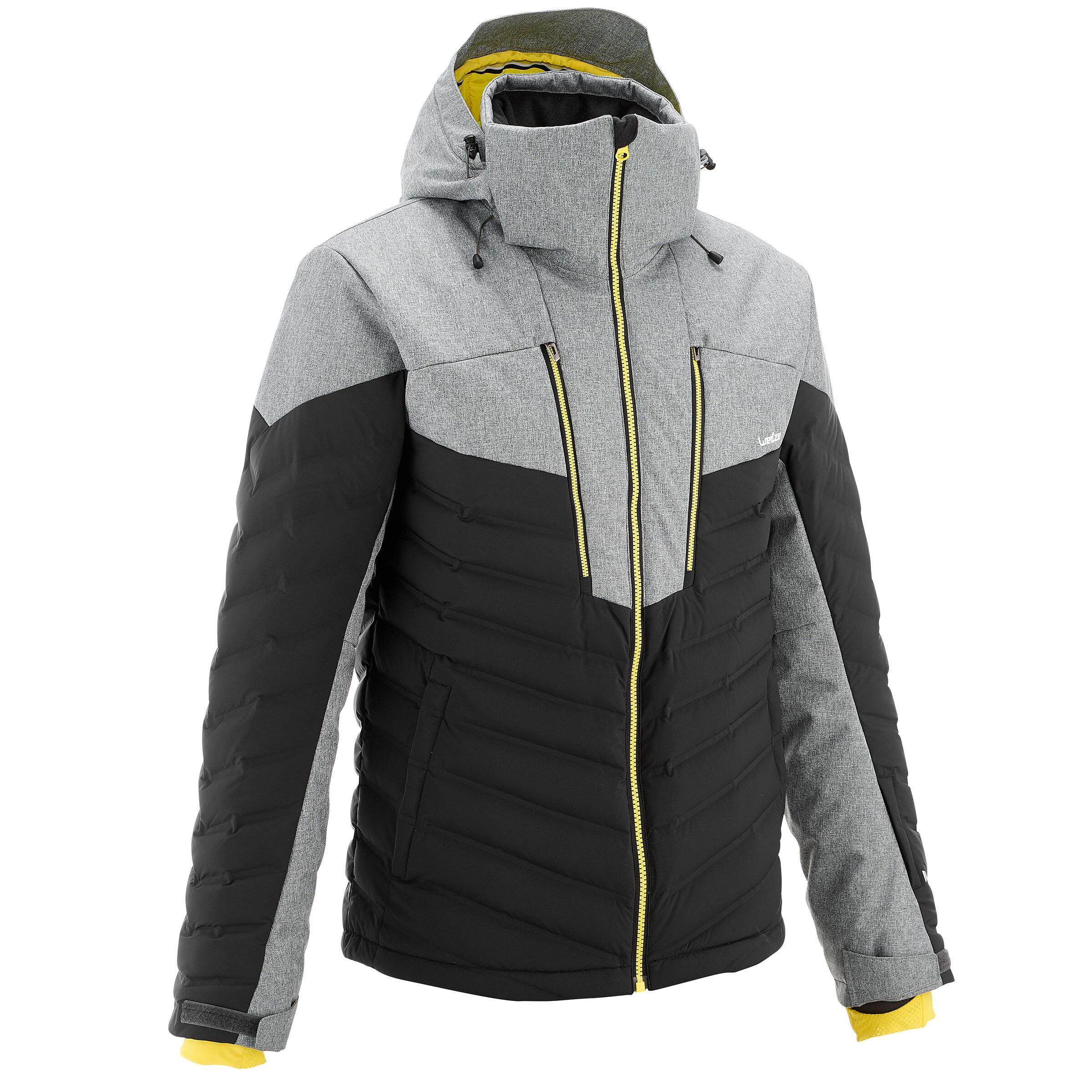 Wed'ze Ski-jas heren voor pisteskiën SKI-P JKT 900 Warm