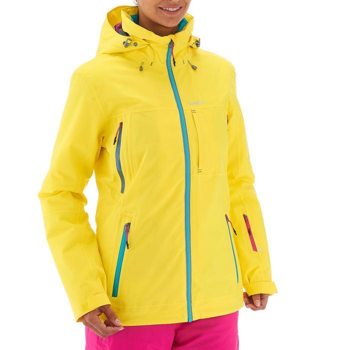 VESTE DE SKI ET SNOWBOARD FEMME FREE 500 BLEUE - 1198469