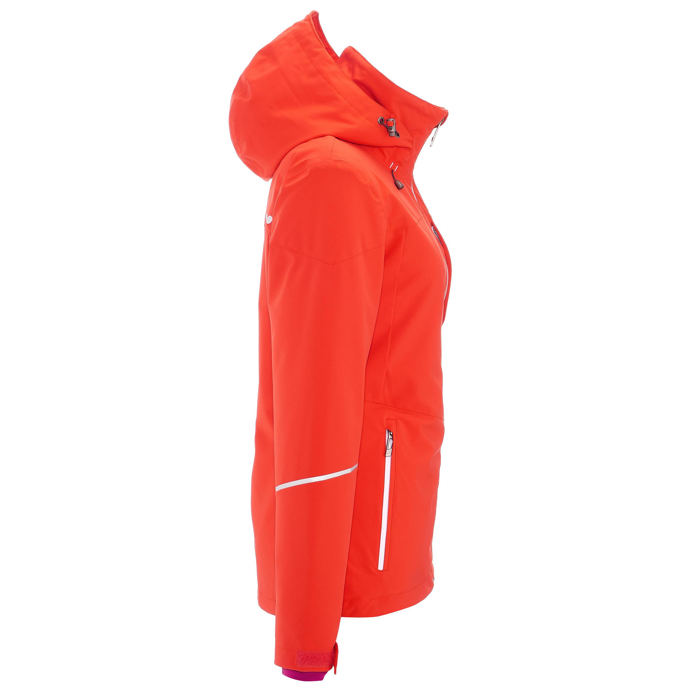 Veste Ski Femme Slide 500 Rouge vmN8nw0