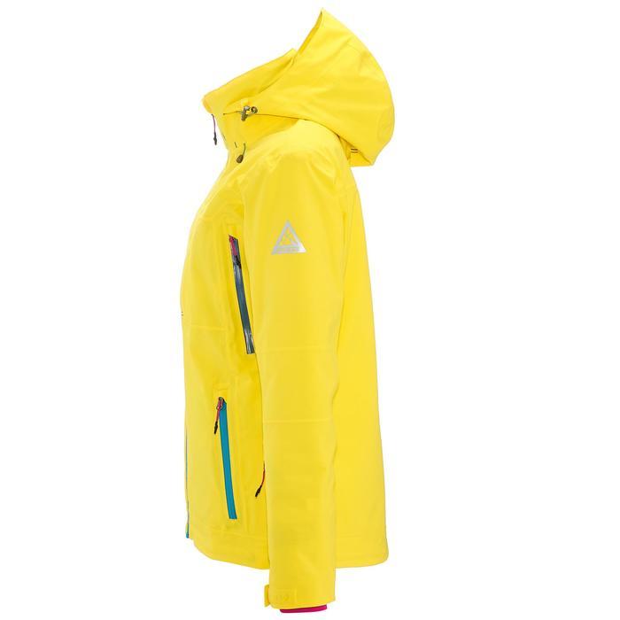 Ski-snowboardjas dames Free 500 geel