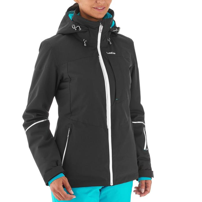 Chaqueta de esquí All Mountain mujer AM580 negro