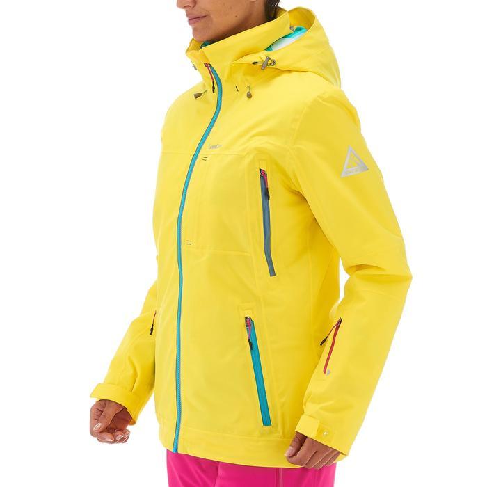 VESTE DE SKI ET SNOWBOARD FEMME FREE 500 BLEUE - 1198560