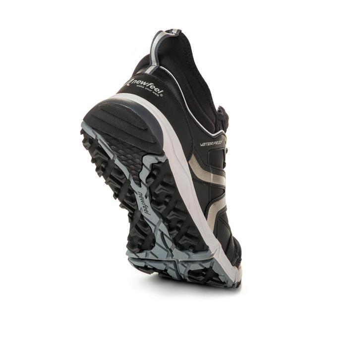Zapatillas marcha nórdica hombre NW 580 Waterproof negras