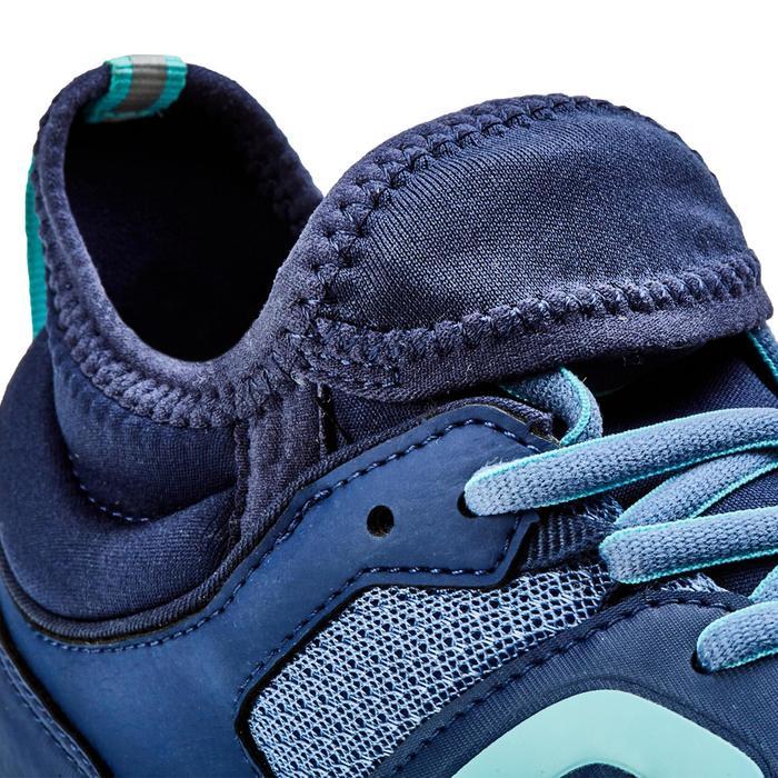 Zapatillas Marcha Nórdica Newfeel NW 500 Flex-H Mujer Azul