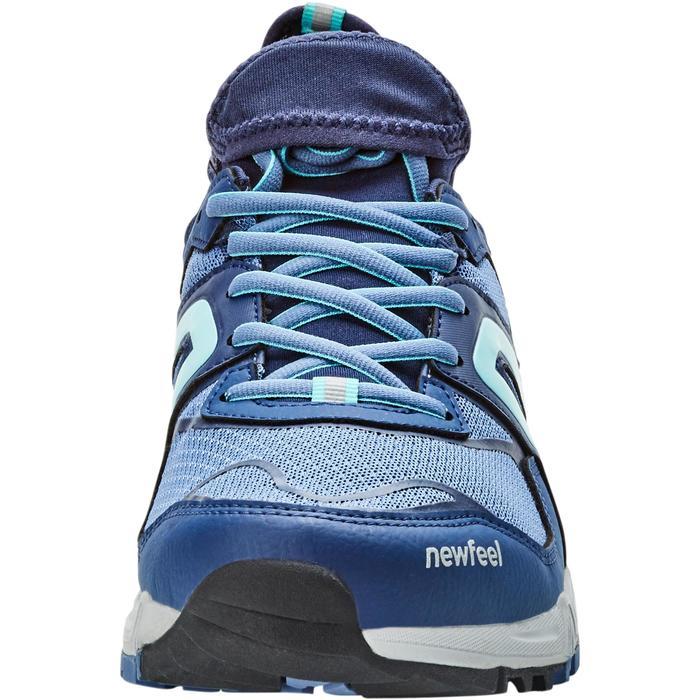NordicWalkingschuhe NW500 FlexH Damen blau