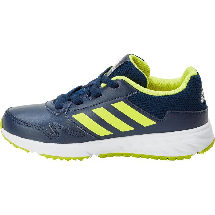 Chaussures marche sportive enfant Fastwalk2 Lacets bleu / jaune - 1198738