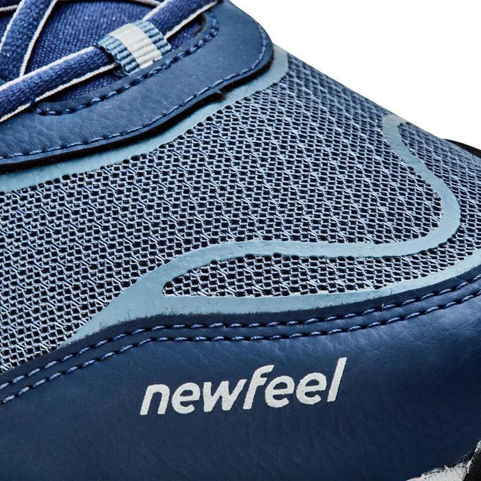 Nordic walking schoenen voor heren NW 500 Flex-H marineblauw / grijs