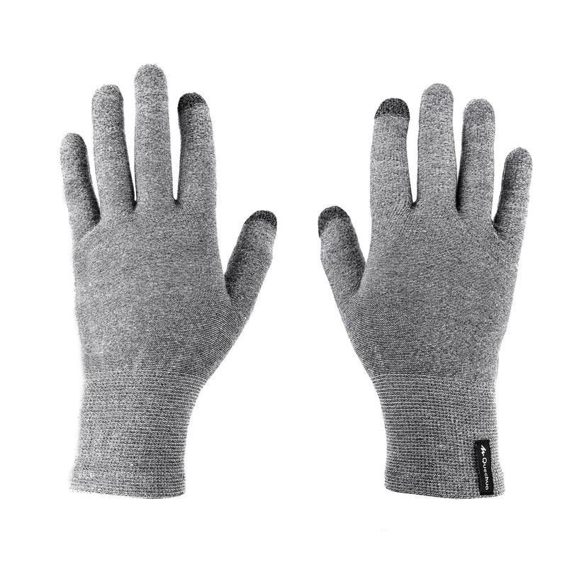 Rękawiczki trekkingowe wewnętrzne Trek 500