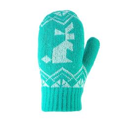 Kinderhandschoenen voor wandelen SH100 tricot warm groen