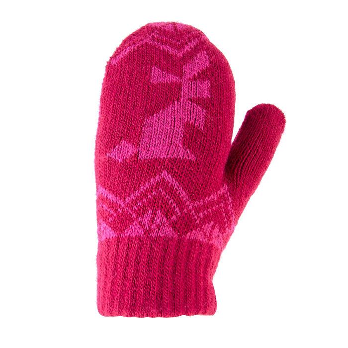 Fäustlinge Strick SH100 Warm Kleinkinder pink
