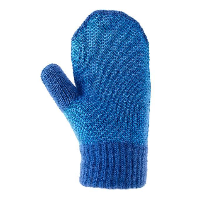 Fäustlinge Strick SH100 Warm Kleinkinder blau