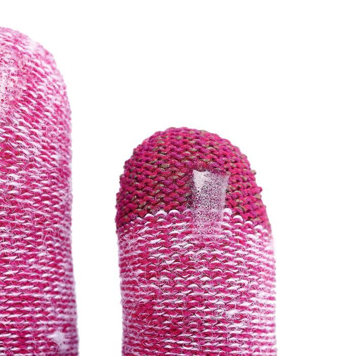 Unterziehhandschuhe Trek 500 violett