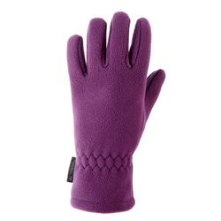 Handschuhe Fleece SH100 Warm Kinder violett
