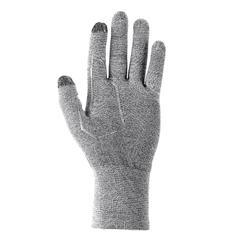 Onderhandschoenen voor bergtrekking Trek 500 grijs