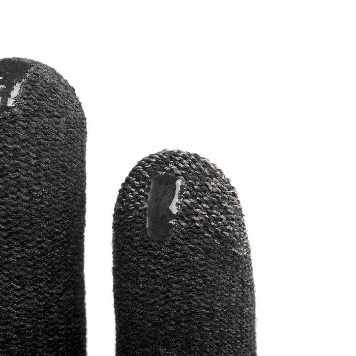 Touchscreen handschoenen voor bergtrekking Trek 500 zwart uniseks