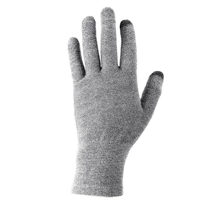 Sous-gants trekking montagne TREK 500 gris