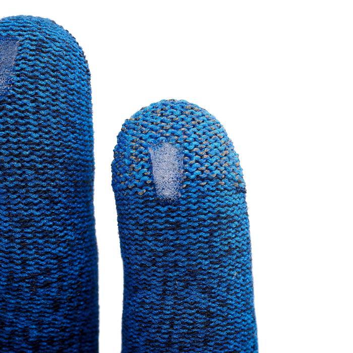 Onderhandschoenen voor bergwandelingen Trek 500 blauw