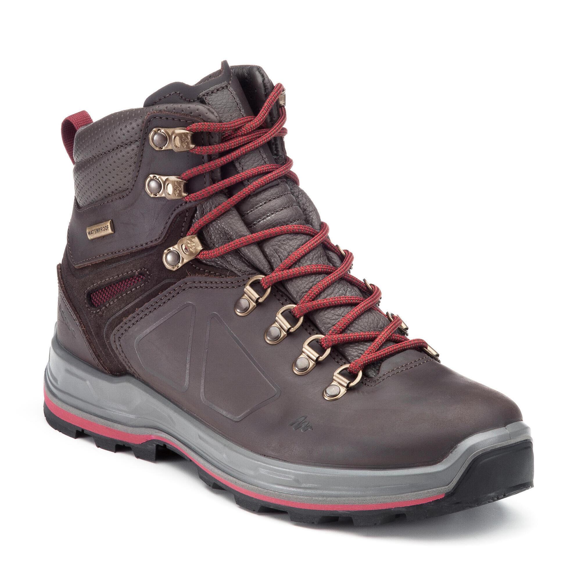 chaussure de trekking trek 500 femme quechua