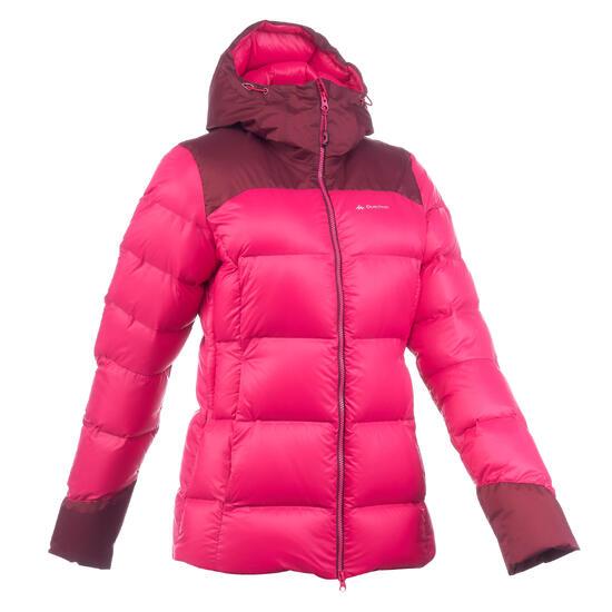 Dames donsjas voor trekking Top-Warm - 1198925