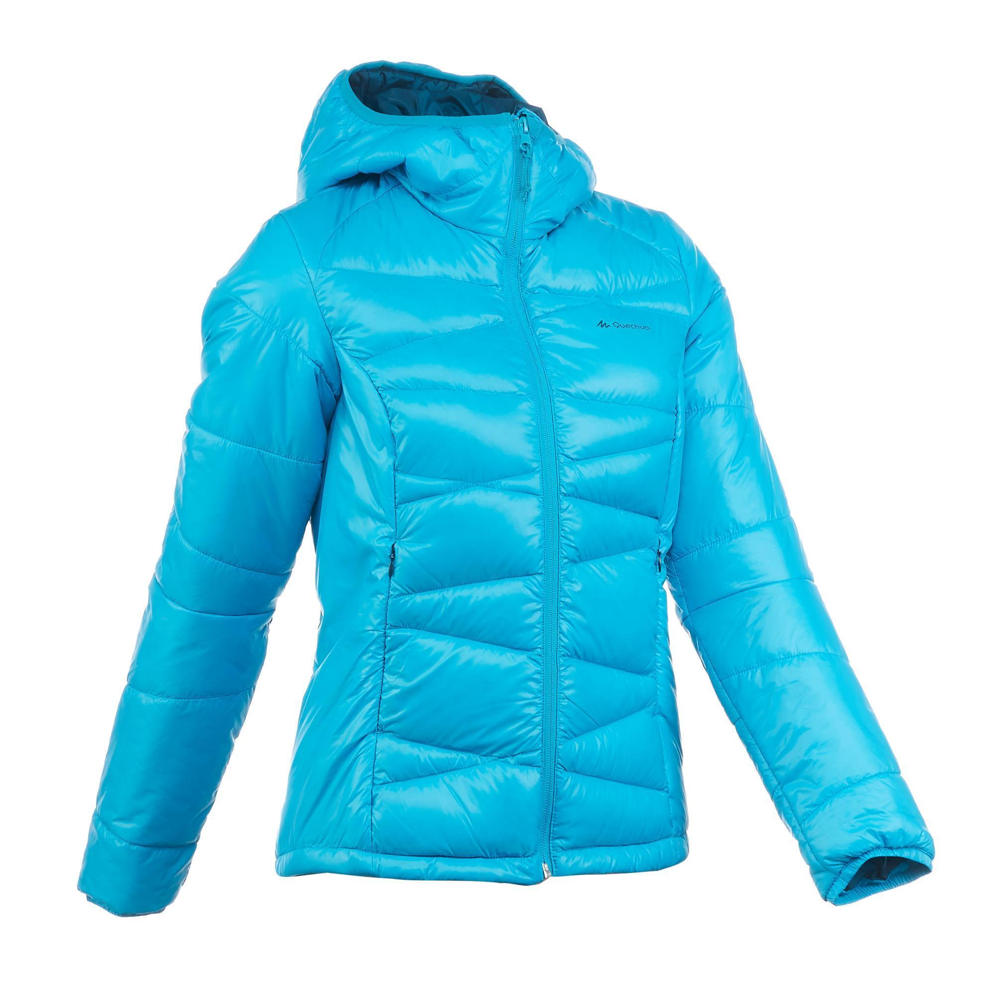 Women's X-Light 2 peacock blue trekking down jacket
