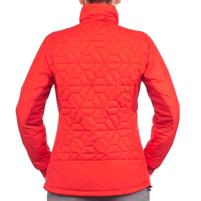 Doudoune trekking Top-light femme rouge
