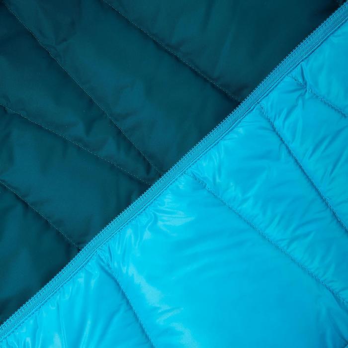 Dames donsjas voor trekking X-Light 2 eendenblauw