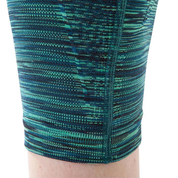 Legging YOGA sans coutures femme 7/8 chiné - 1199278