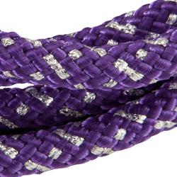 Corde de Gymnastique Rythmique (GR) de165 gr Violet pailletté