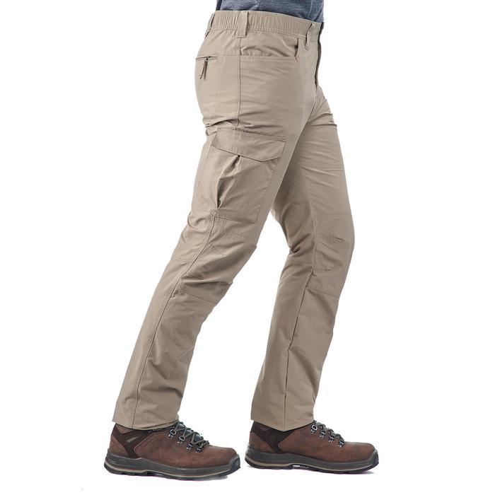 Pantalon trekking Forclaz 100 homme - 1199429