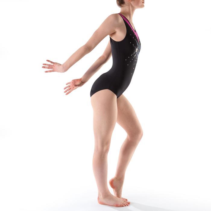 Justaucorps sans manches gym (GAF et GR) Sequins - 1199452