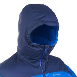 Abrigo Chaqueta Plumón Trekking y Montaña Forclaz TREK900 Acolchada Hombre Azul