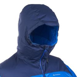 Daunenjacke Trek 900 Warm Bergtrekking Herren blau