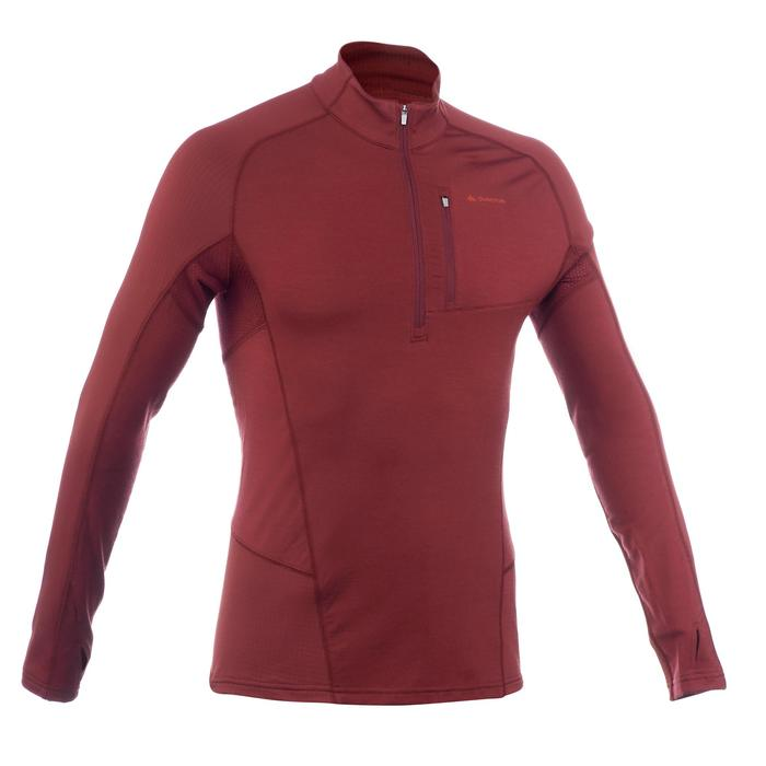 T-shirt manches longues trekking Forclaz 900 wool homme - 1199463