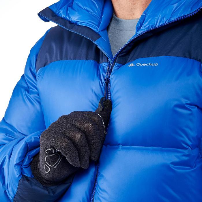 Chaqueta acolchada trekking en montaña TREK 900 WARM hombre azul