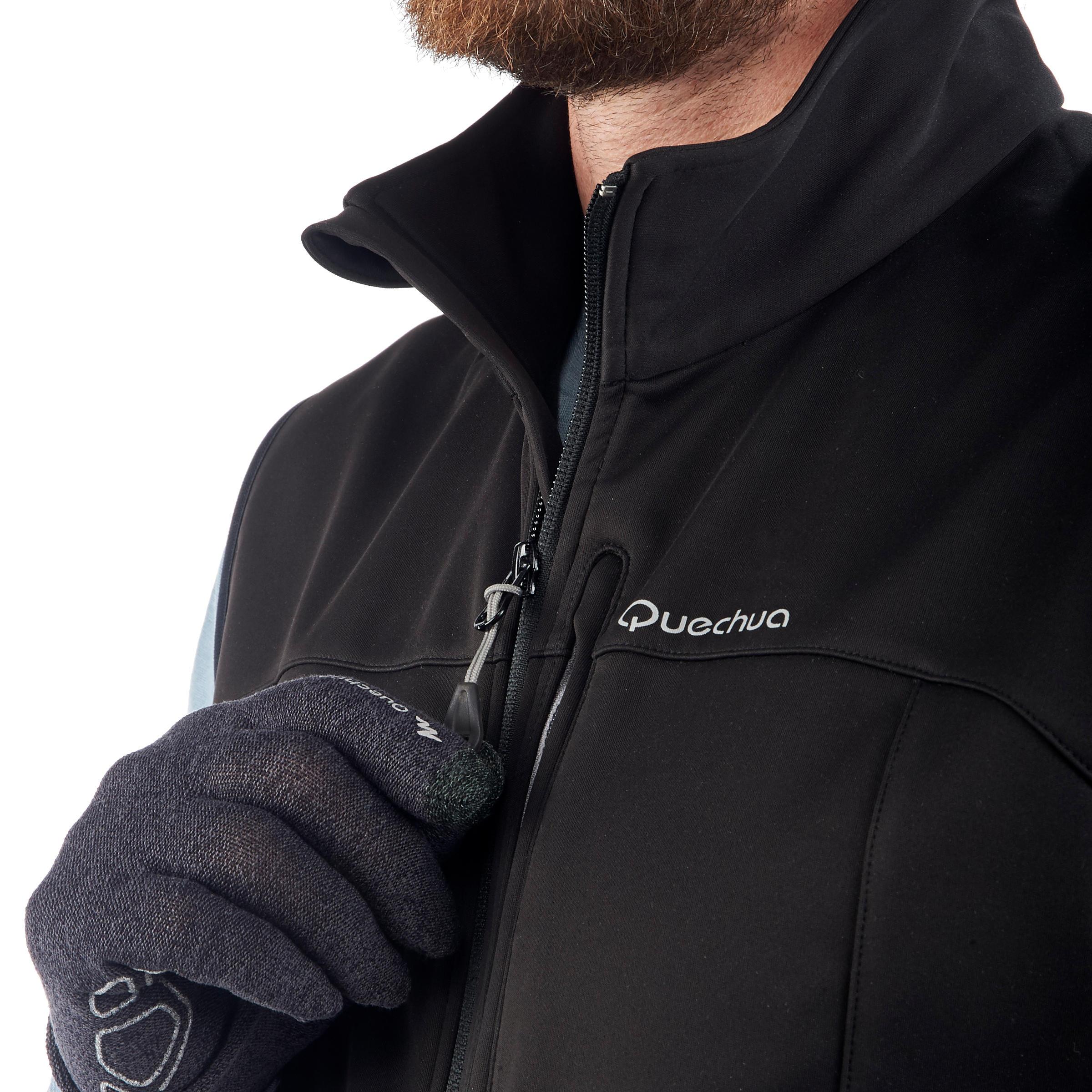Men's Black TREK 700 Wind Mountain Trekking Vest