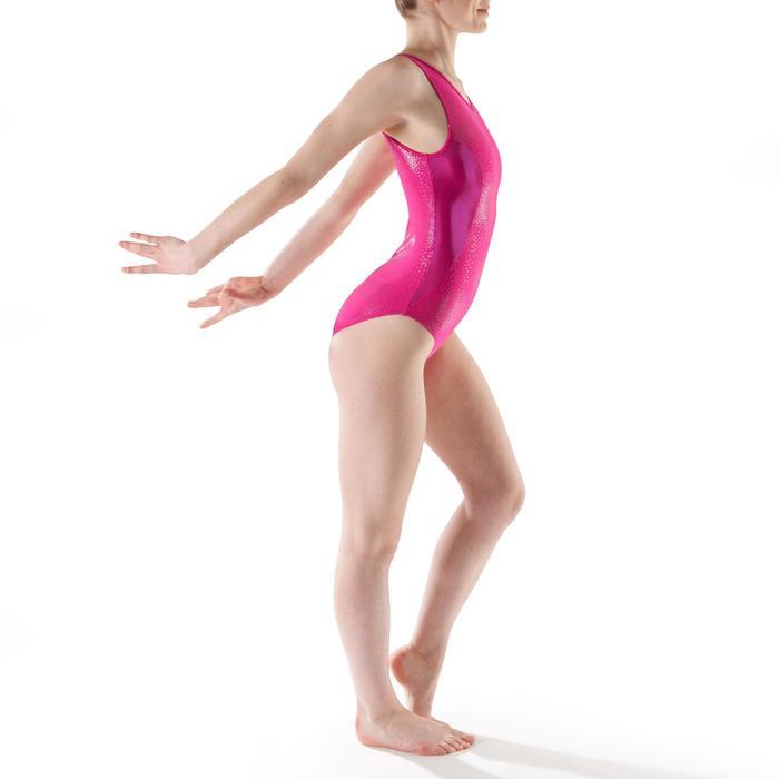 Maillot sin mangas gimnasia femenina (GAF) Rosa 520