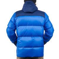 Doudoune randonnée montagne RANDO 900 homme bleu