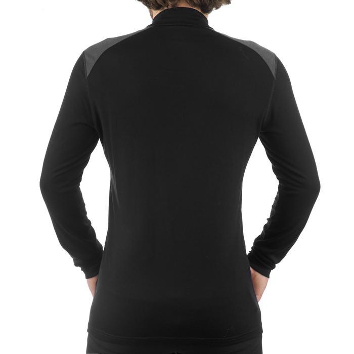 T- Shirt manches longues TREKKING montagne TECHWOOL 190 zip homme - 1199664